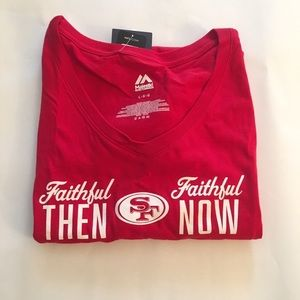 Fanatics Majestic Women's SF 49ers Shirt